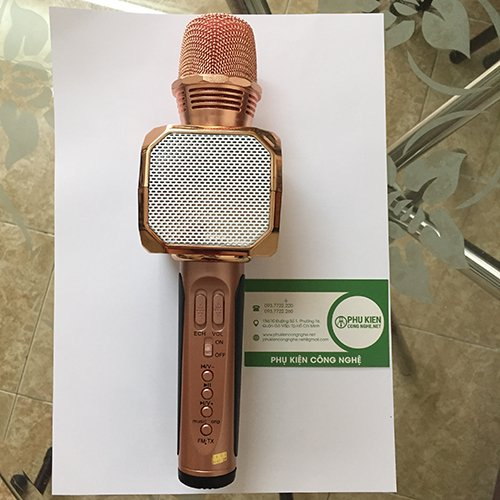 Micro Karaoke kèm Loa Bluetooth 3 trong 1 - Magic Karaoke SD-10