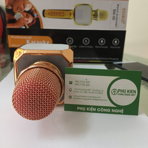 Micro Karaoke kèm Loa Bluetooth 3 trong 1 - Magic Karaoke SD-10