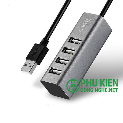 Hub 4 cổng USB 2.0 Hoco HB1 chính hãng
