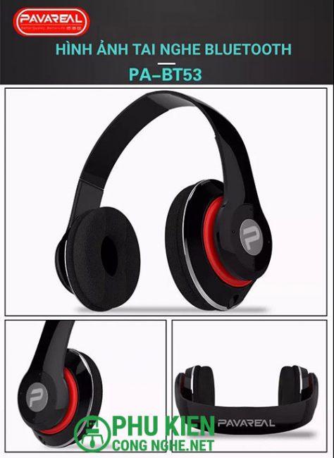 Tai nghe Bluetooth Pavareal BT53
