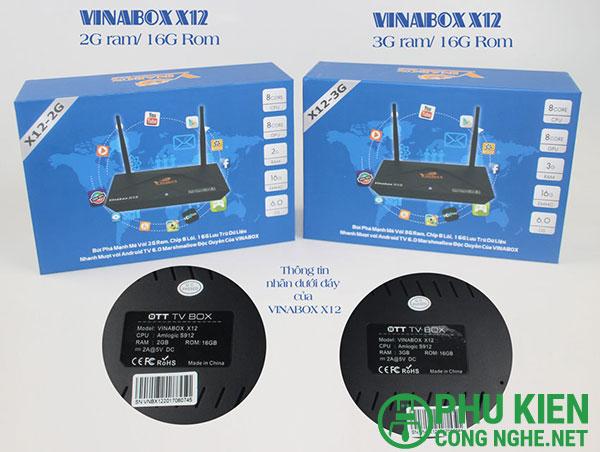Android Box VinaBox X12
