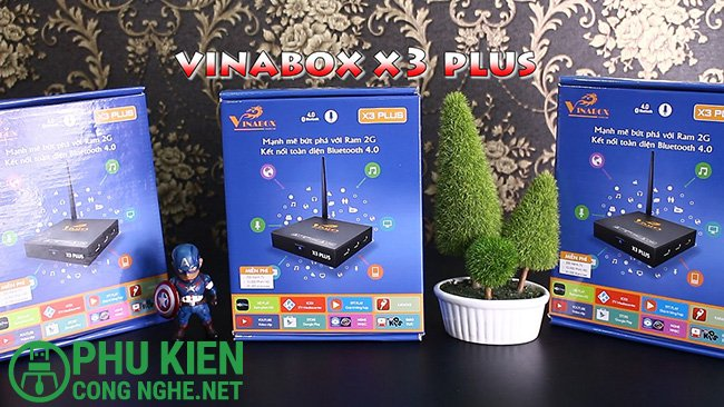 Smart Tivi Box Vinabox X3 Plus