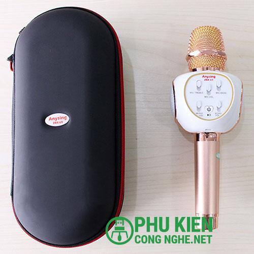 Micro kèm loa Karaoke ZBX69 chính hãng, âm thanh cực chất