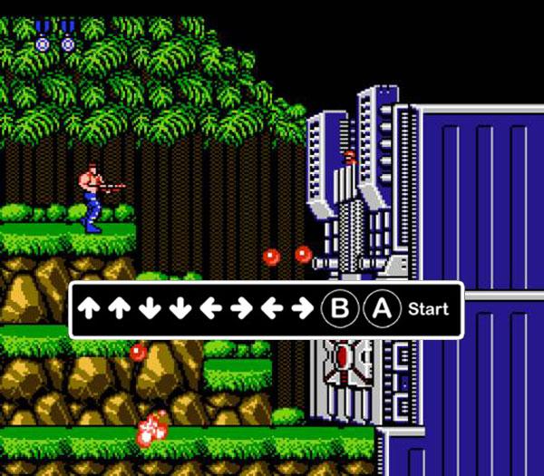 Game 4 nút Contra - Game bắn súng huyền thoại một thời.