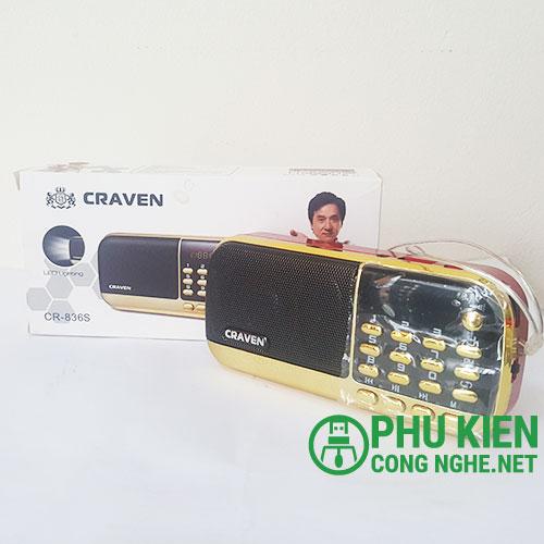 Loa nghe kinh thiền Craven CR-836S