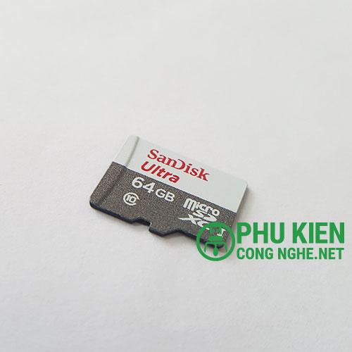 Thẻ nhớ Sandisk Ultra 64GB chính hãng