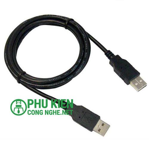 Cáp USB 2 đầu 1.5m chất lượng