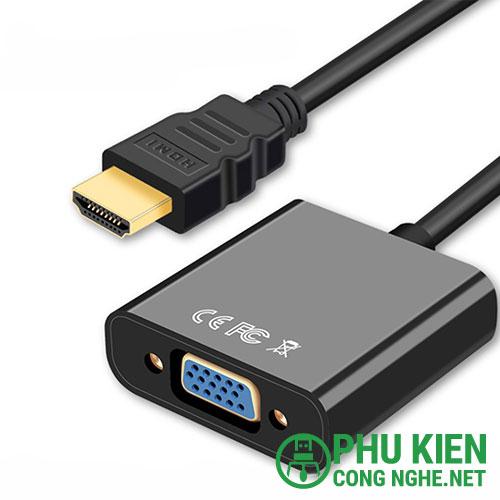 Cáp chuyển đổi HDMI sang VGA kèm audio