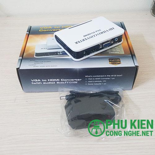 Bộ chuyển đổi VGA sang HDMI FY1316W