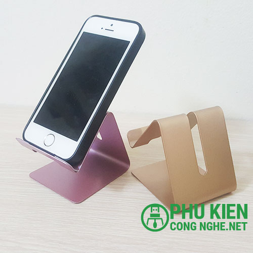 Giá đỡ điện thoại - Ipad hợp kim nhôm cao cấp
