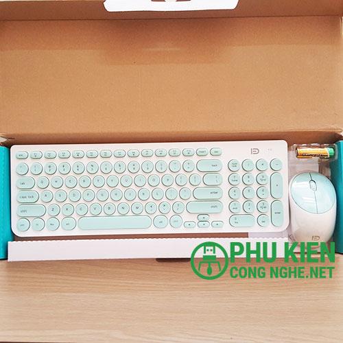 Combo phím chuột không dây FD-IK6630