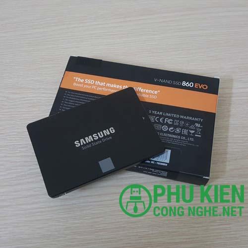 Ổ cứng SSD 500Gb Samsung 860 Evo chính hãng
