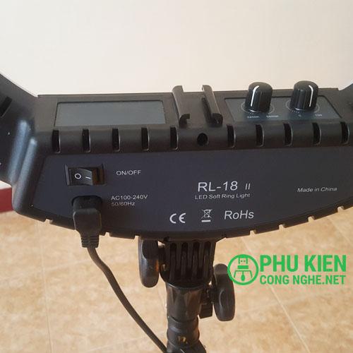 Đèn hỗ trợ live stream size lớn 46cm