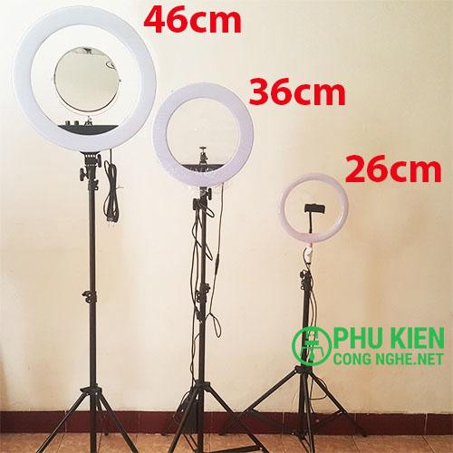 Đèn hỗ trợ live stream size trung 36cm