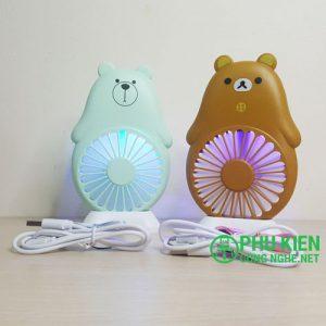 Quạt gấu mini KH019