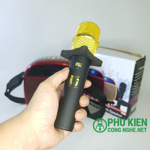 Bộ loa mic hát karaoke YS-A23 chất lượng cao