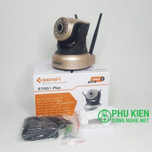 Camera Wifi Siepem S7001 plus